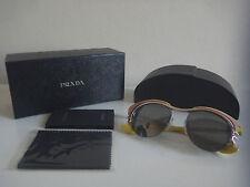 Genuine Designer Prada Women SPR600 52*17 JAY-7W1 140 3N yellow dixie sunglasses