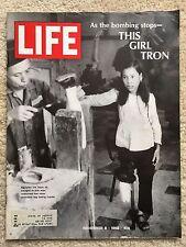 LIFE MAGAZINE Nov 8 1968 Vietnam the Bombing Stops