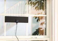 NEW Ultra Slim Wall or Window Mount Indoor 1080P HDTV Antenna 360° TV Reception