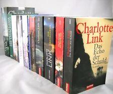 14 x Charlotte Link - Bücherpaket zum entdecken - historische Romane - Konvolut