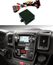 Citroen Relay Peugeot Boxer Fiat Ducato Radio Reverse Camera Input Interface