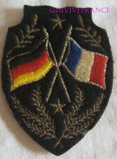 IN20216 - tissu PATCH ECUSSON FORCES FRANÇAISES EN ALLEMAGNE