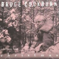 Bruce Cockburn Selections from Christmas CD Promo 8trks Songs + Snippets 1993