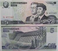"BILLETE ""   ASIA   5    WON    AÑO : 2002       UNC    PLANCHA"