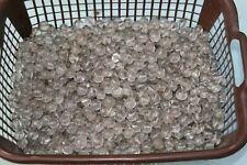 gros lot de perles en verre pampilles pour confection rénovation de luminaires