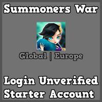 Summoners War Global/Europe Dark Oracle Giana Starter Account