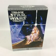 Star Wars Trilogy Digitally Remastered Widescreen Boxed Set IV I VI  Canadian