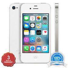 APPLE IPHONE 4S BIANCO 16GB ORIGINALE + ACCESSORI + 3 MESI GARANZIA GRADO A