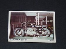#75 GUZZI V 850 GT ITALIA ITALIE MOTO 2000 PANINI EDITIONS DE LA TOUR 1973