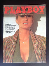Revue Playboy N° 10 1977 TBE Erotisme