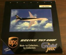 Gemini Jets 1:400 Scale UPS Boeing 757-200F GJUPS380 Wth Stand Rare NEVER OPENED