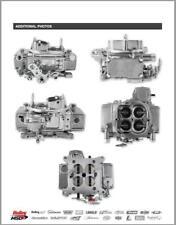 2 4 BBL 450 CFM QFT TUNNEL RAM CARBS,  BRAND NEW DIECAST ALUMINUM CARBS