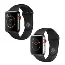 Reloj de Apple serie 3 38mm Gps Celular-negro espacial o Caja de acero inoxidable