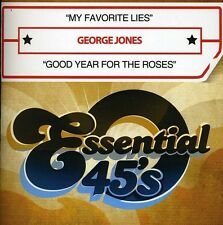 George Jones - My Favorite Lies / Good Year for the Roses [New CD] Manufactured