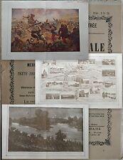 Le Panorama de La Guerre Mondiale 1914-19 Fascicule n°12