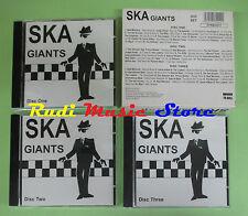 CD Ska Giants compilation BOX 3 CD Bad Manners Judge Dread no mc dvd vhs(C35)