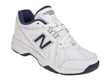 NEW BALANCE KX624WNY 624 KX624 1.5 M 33 NIB $45 WHITE NAVY BOYS TRAINING TENNIS