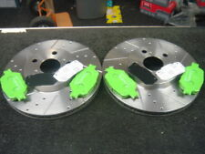 CELICA VVTI 190  2ZZGE DRILLED GROOVED DISC &BRAKE PADS