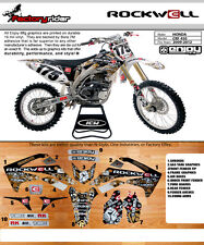 2009-2012 HONDA CRF 450 ROCKWELL Motocross Graphics Dirt Bike Graphic Decal Deco