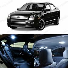 11 x Ultra White LED Interior Light Package For 2006 - 2009 Ford Fusion