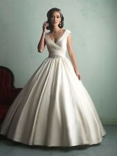 V Neck Cap Sleeve Allure Bridals Wedding Dresses For Sale Ebay