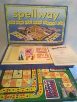 RARE Vintage SPELLWAY Board Game Spears Games 1991 100% complete & Instructions