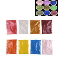 10G cosmetic grade natural mica pigment soap candle colorant DIY 8 color FT