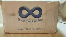 Everlasting Comfort Seat Cushion - Relieve Back, Sciatica, Coccyx and.