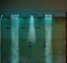 Erlebnisdusche Tropica 57 x 47 chrom Duft Sound Rainmaker Rainsky
