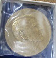 Ronald Reagan Brass Medal - Treasury Bureau of the Mint
