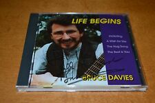 Bruce Davies Life Begins Signed CD Scottish Scotland Zig Zaggy Hug Song Perth