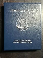 2004 W Proof American Silver Eagle with Box/COA - US Coins