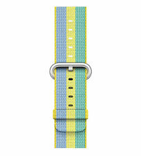 NIB OEM Apple 38mm Pollen Stripe Woven Nylon Band LIMITED SOLD OUT