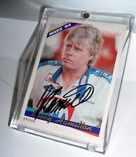 Bobby Hamilton Autographed 1994 Maxx Card  #20 - NMNT