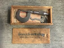 BROWN & SHARPE MFG. CO. MICROMETER CALIPER NO. 13RS, IOB