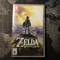 The Legend of Zelda: Breath of the Wild - Nintendo Switch, 2018 (SEALED)