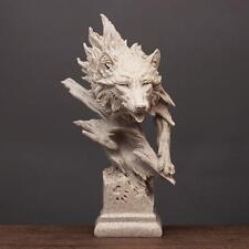 Creative Decoration Wolf Sculpture Model Animal Town house Wild nature Prestige