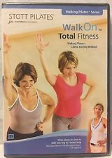 Stott Pilates Walk On to Total Fitness walking workout exercise fitness DVD