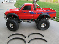 New Tamiya RC 1/10 Toyota Hilux Bruiser Trail Finder Rubber Fender Flare Flares