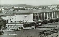 Postcard RPPC Wien Westbahnhof Train Station Vienna Austria Vintage