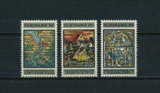 Suriname   359-61 MNH, 1st Synagogue, 1969