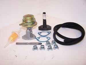Fuel pump value kit, VW Beetle & Type 2 1960 to 7/1973, Up to 1600cc (Dynamo)