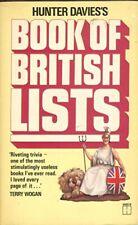 Book of British Lists-Hunter Davies