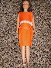 Vintage Barbie Brunette Skooter Doll Skipper's Friend SL Straight Leg 1960s