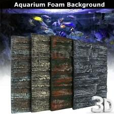 1/2Pcs 3D Aquarium Foam Rock Stone Fish Tank Background Reptile Cage ��