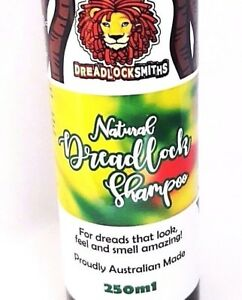 DREADLOCK SHAMPOO. Natural, dandruff, residue free, vegan, Spearmint, soap free