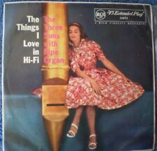 "THE THREE SUNS-THE THINGS I LOVE IN HI-FI ""RARE OZ EP"" 45 RPM GGA"