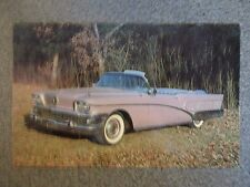 1958 Buick Limited Convertible Postcard Excellent Condition