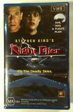 The Night Flier VHS 1997 Horror Stephen King 20th Century Fox Large (Re-Cased)