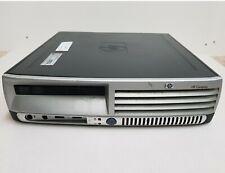 HP dc7700p Windows 7 core2Duo Computer 2Gb RAM WiFi Ultra Slim Desktop PC